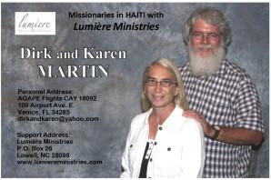 Martin Prayer card