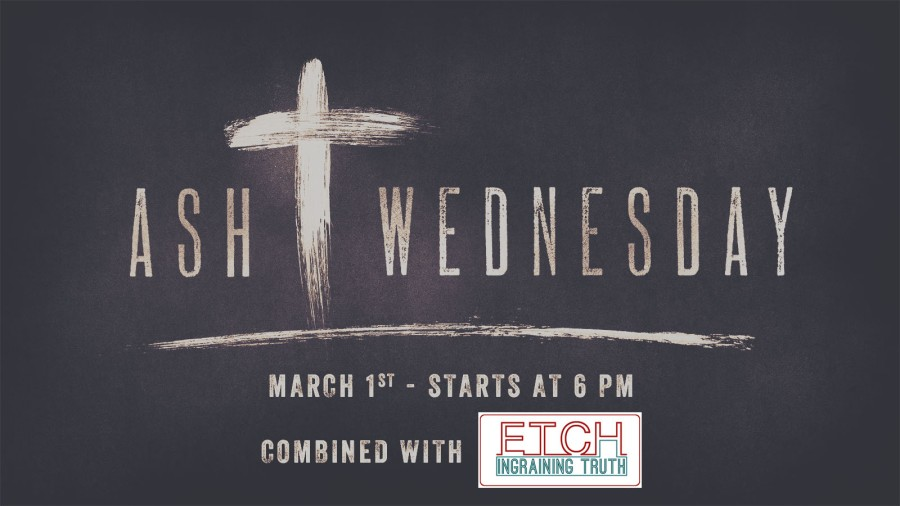 Worship: Ash Wednesday