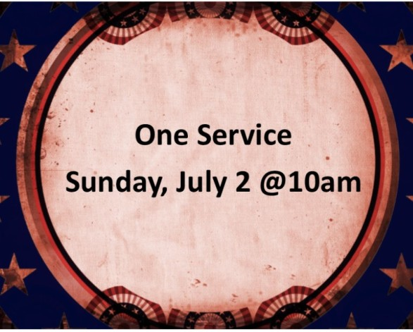 One service graphic