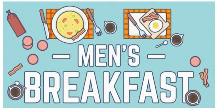 Men's breakfast graphic