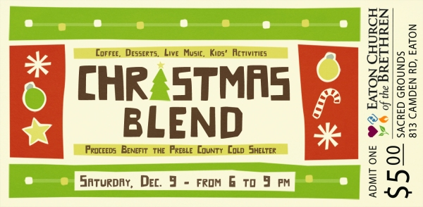 Christmas Blend 2017 TICKET