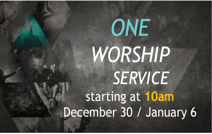 One Service - Dec 30.Jan6