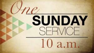 Oneworshipservice-10 am